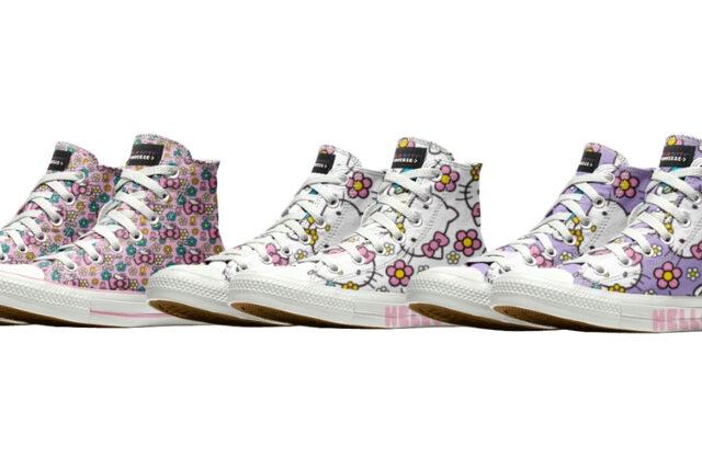 Converse Custom Chuck Taylor All Star High Top Shoe Hello Kitty