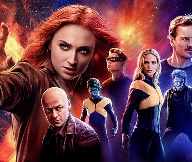 """映画『X-MEN: ダーク・フェニックス』上映中!最強の味方であり、最強の敵!マーベル史上最大の脅威 """"ダークフェニックス""""がX-MENの世界に終止符を打つ"""