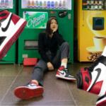 Red Velvet レッドベルベット Joy ジョイ 190830 Nike ナイキ Air Jordan 1 エアジョーダン 1 WMNS ウィメンズ Black Toe つま黒