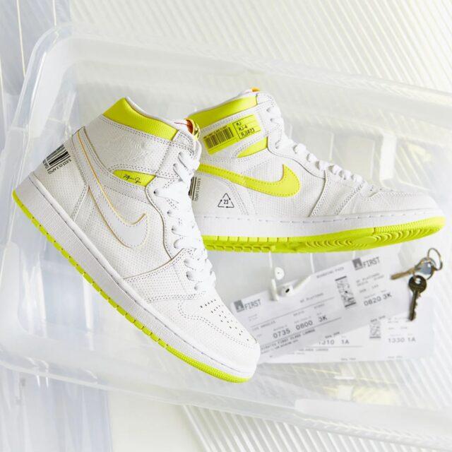 "Nike Air Jordan 1 Hi OG ""First Class Flight"" (ナイキ エア ジョーダン 1 ハイ OG ""ファースト クラス フライト"")"