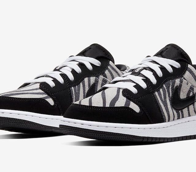 """ナイキ エアジョーダン 1 ロー """"ゼブラ"""" (Nike Air Jordan 1 Low """"Zebra"""")"""