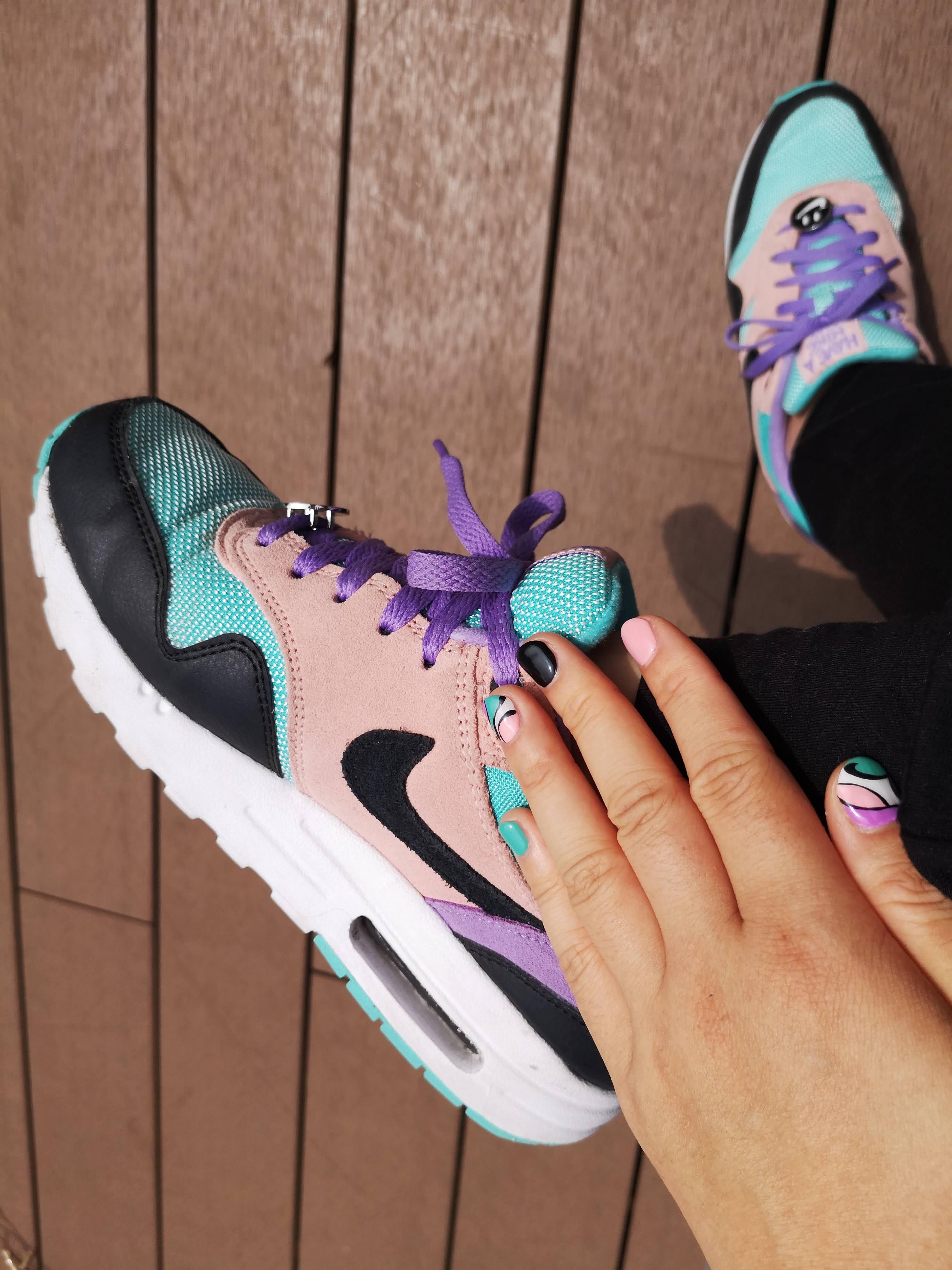 ネイル&スニーカー (Nail_Nike_Air Max1_Have A Nike Day)