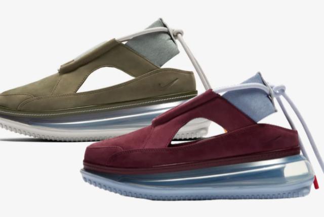 "Nike Air Max FF 720 ""Olive and Bone"" & ""Night Maroon"" (ナイキ エア マックス FF 720 ""オリーブ アンド ボーン"" & ""ナイト マルーン"")"