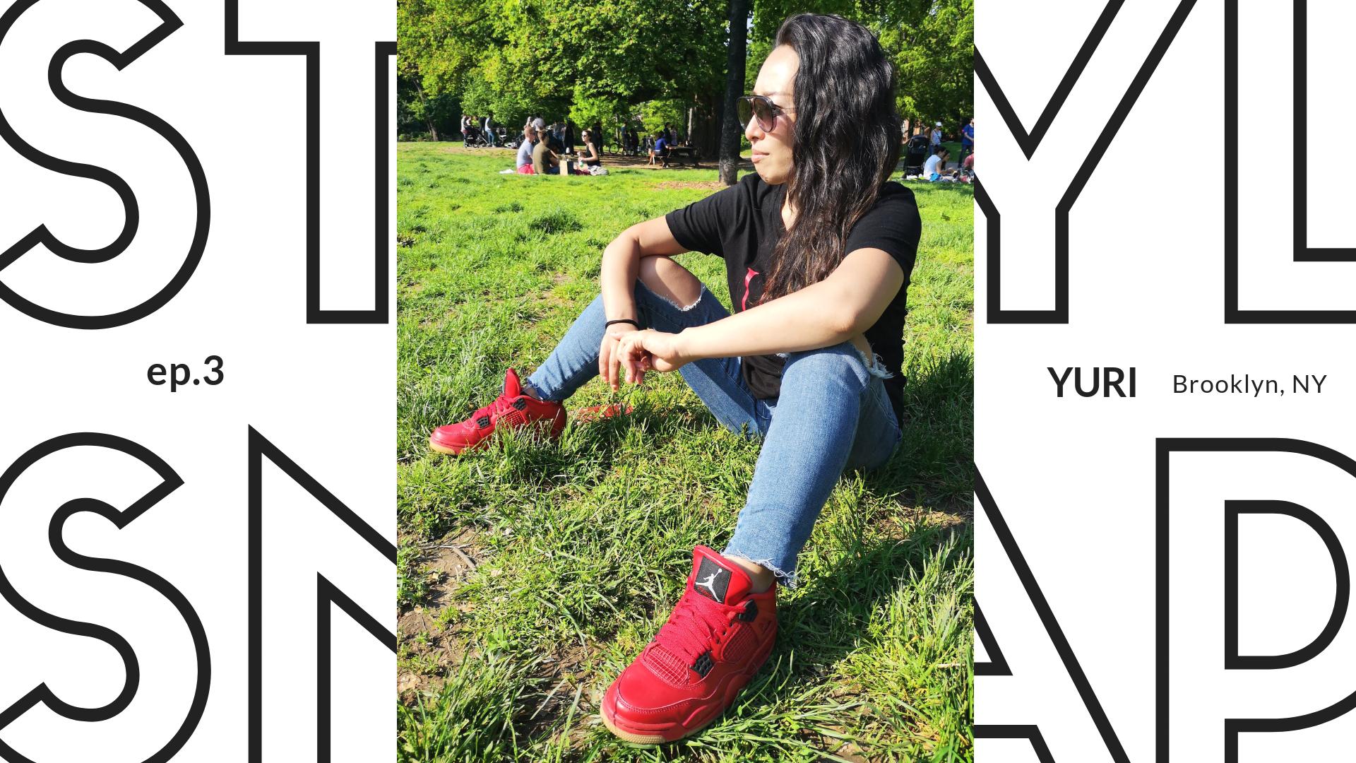 ニューヨークのスタイルスナップ写真 Style_Snap_Yuri