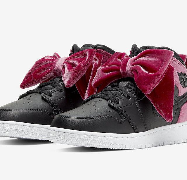 Nike WMNS Air Jordan 1 Mid Bow (ナイキ ウィメンズ エア ジョーダン 1 ミッド ボウ)