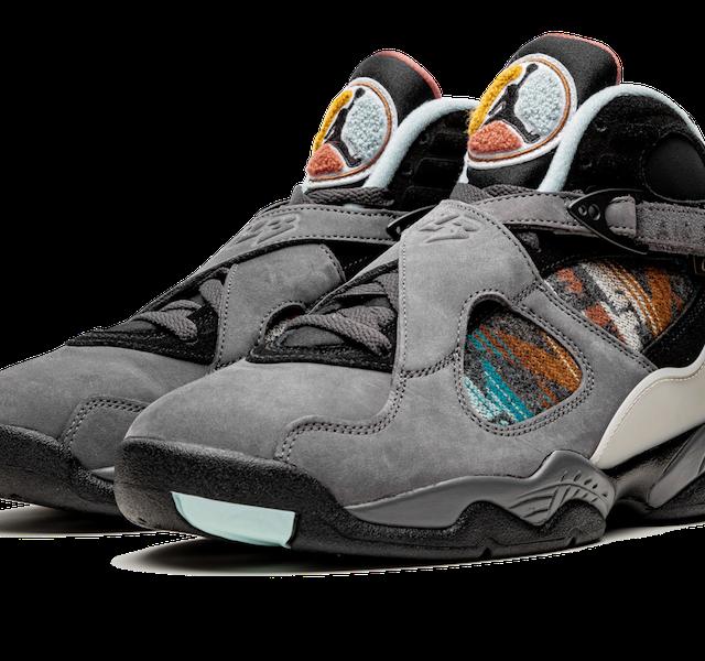 """Nike Air Jordan 8 """"PENDLETON"""" (ナイキ エア ジョーダン 8 """"ペンドルトン"""")"""