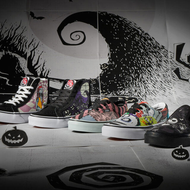 The Nightmare Before Christmas x Vans Collaboration Collection (ナイトメアー・ビフォア・クリスマス × ヴァンズ コラボ コレクション)