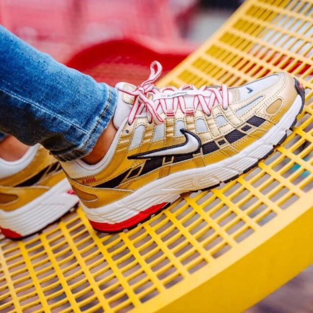 Nike-P-6000-Metallic-Gold-BV1021-007 on foot