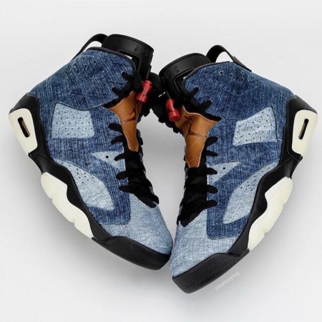 "Nike Air Jordan 6 ""Washed Denim"" (ナイキ エア ジョーダン 6 ""ウォッシュド デニム"")"