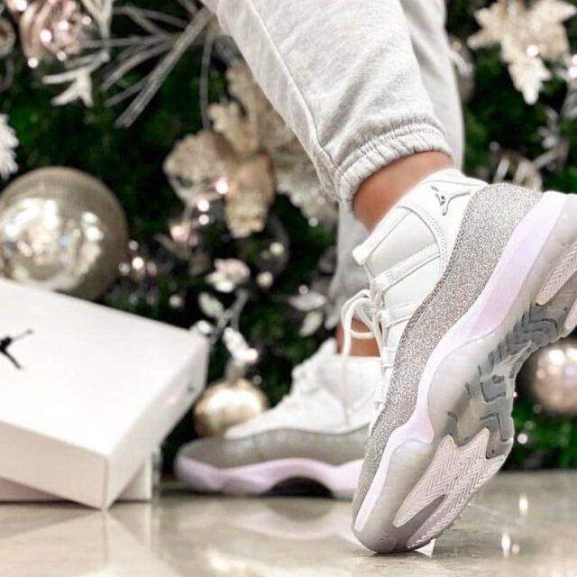 Nike WMNS Air Jordan 11 Metallic Silver ナイキ ウィメンズ エア ジョーダン 11 メタリック シルバー クリスマス 2019