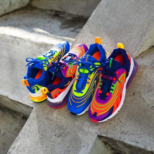 Nike Air Max 270 React ENG (ナイキ エア マックス 270 リアクト ENG) CD0113-401, CD0113-600