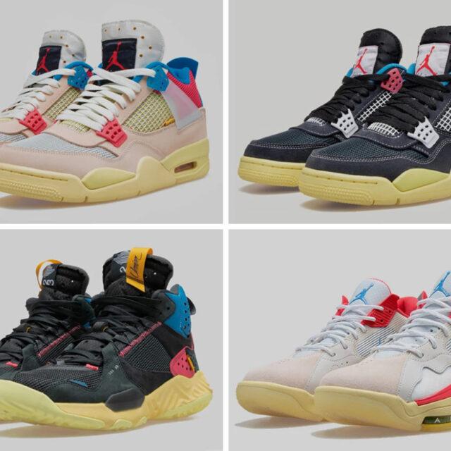 "UNION x Nike Air Jordan ""KNOW THE LEDGE"" COLLECTION (ユニオン × ナイキ エア ジョーダン ""ノウ ザ レッジ"" コレクション)"