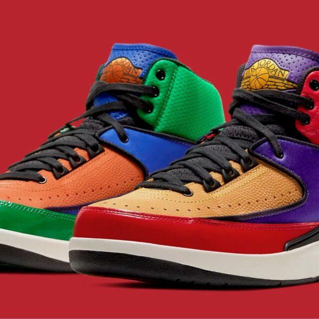 "Nike WMNS Air Jordan 2 ""Multicolor"" (ナイキ ウィメンズ エア ジョーダン 2 ""マルチカラー"") CT6244-600"