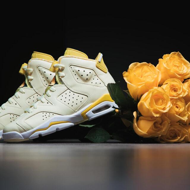 "Nike Air Jordan 6 GS ""Floral Yellow"" (ナイキ エア ジョーダン 6 GS ""フローラル イエロー"") 543390-800"