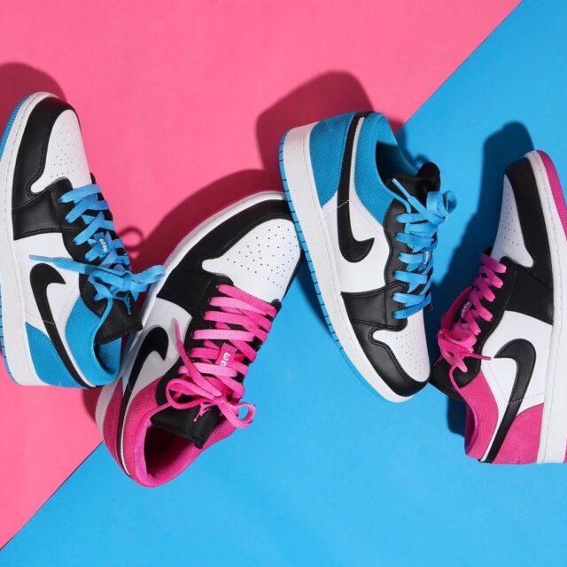 Nike Air Jordan 1 Low Laser_Blue_Magenda