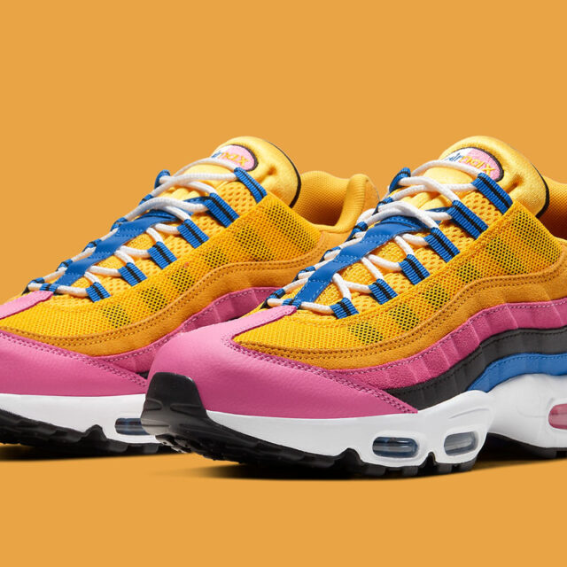"Nike Air Max 95 ""Multicolor Suede"" (ナイキ エア マックス 95 ""マルチカラー スエード"") CZ9170-700"