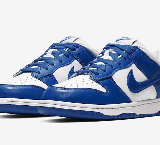 """Nike Dunk Low """"Varsity Royal"""" (ナイキ ダンク ロー """"バーシティ ロイヤル"""") CU1726-100"""