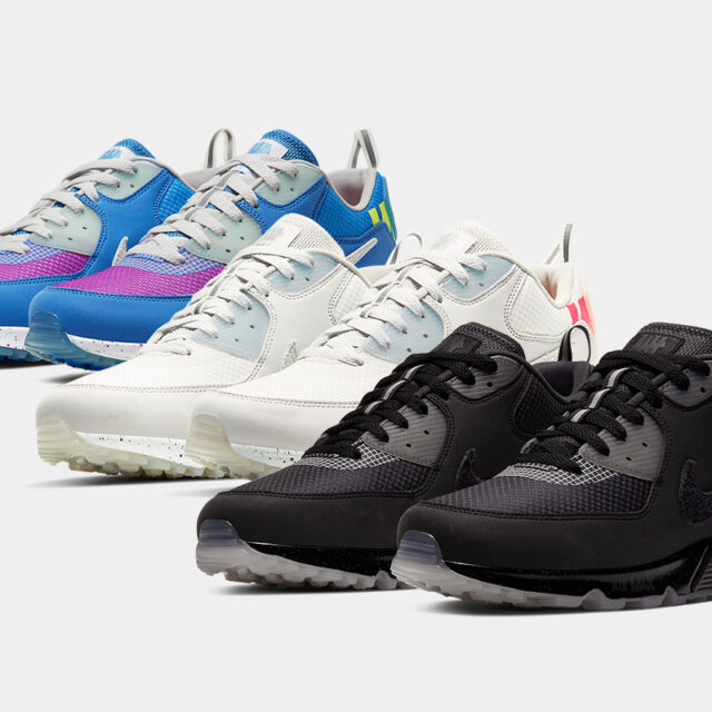 Undefeated × Nike Air Max 90 Collection (アンディフィーテッド × ナイキ エア マックス 90 コラボ コレクション) CQ2289-001, CQ2289-002, CQ2289-400