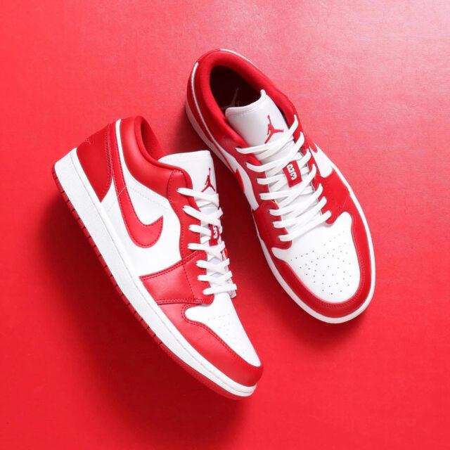 """Nike Air Jordan 1 Low """"Gym Red"""" (ナイキ エア ジョーダン 1 ロー """"ジム レッド"""") 553558-611, 553560-611, BQ6066-611, CI3436-611"""