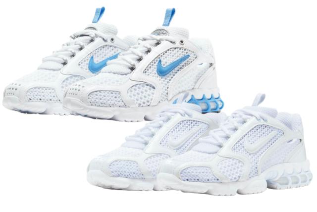 """Nike Air Spiridon Caged 2 """"University Blue"""" """"Triple White"""" (ナイキ エア ズーム スピリドン ケージド 2 """"ユニバーシティ ブルー"""" """"トリプル ホワイト"""") CD3613-100, CJ1288-100"""