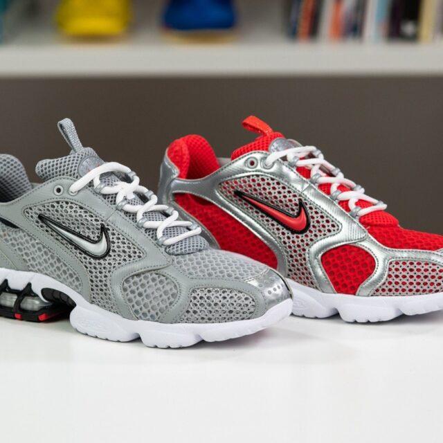 Nike Air Zoom Spiridon Caged 2 (ナイキ エア ズーム スピリドン 2) CD3613-001, CD3613-600, CJ1288-001, CJ1288-600
