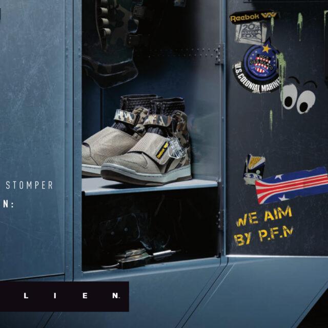 Reebok × Alien 2 U.S.C.M. BUG STOMPER (リーボック × エイリアン 2 U.S.C.M. バグ スタンパー) FV5052