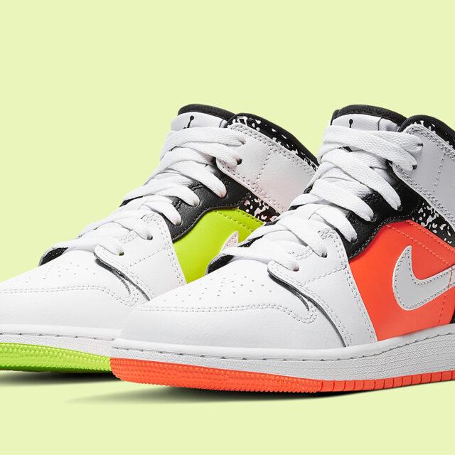 "Nike Air Jordan 1 GS ""Composition Notebook"" (ナイキ エア ジョーダン 1 GS ""コンポジション ノートブック"") 554725-870"
