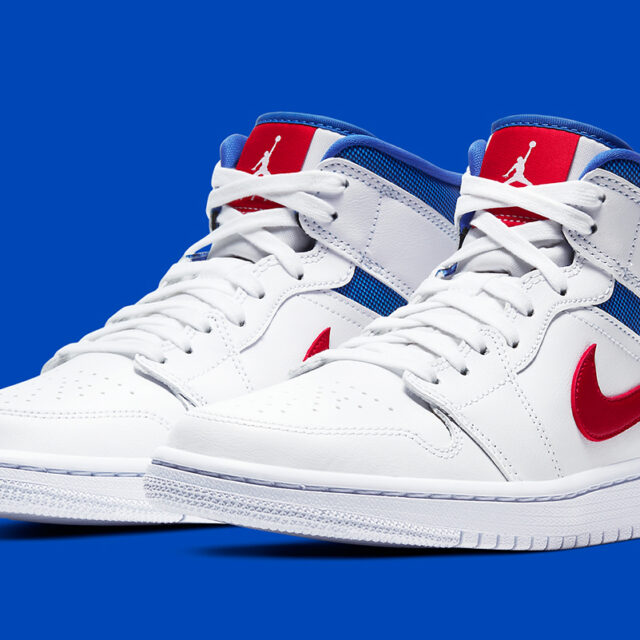 "Nike WMNS Air Jordan 1 Mid ""Patriotic"" (ナイキ ウィメンズ エア ジョーダン 1 ミッド ""パトリオティック"") BQ6472-164"