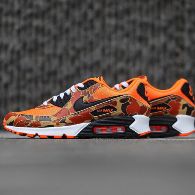 "Nike Air Max 90 ""Orange Camo"" (ナイキ エア マックス 90 ""オレンジ カモ"") CW4039-800"