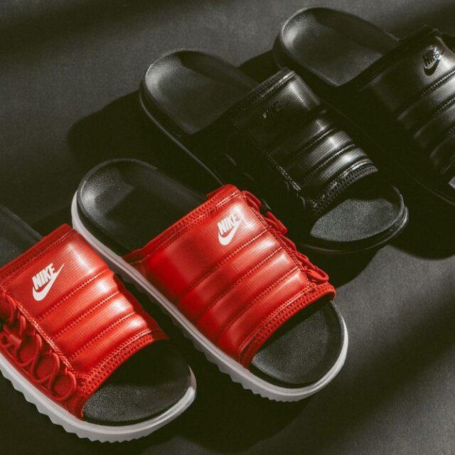 "Nike City Slide NA ""Black"" ""University Red"" (ナイキ シティ スライド NA ""ブラック"" ""ユニバーシティ レッド"") CW9703-004, CW9703-001"