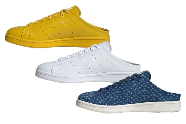 adidas Originals Stan Smith Mule (アディダス オリジナルス スタンスミス ミュール) FX0531, FX0532, FX2539