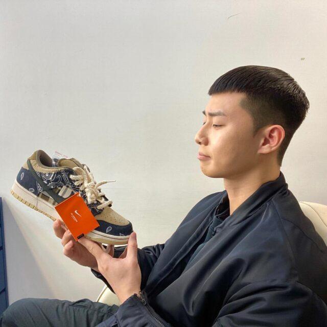 パク・ソジュン インスタグラム bn_sj2013 着用 スニーカー 靴 愛用 梨泰院クラス