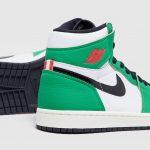 """Nike WMNS Air Jordan 1 High OG """"Lucky Green"""" (ナイキ ウィメンズ エア ジョーダン 1 ハイ OG """"ラッキー グリーン"""") DB4612-300 pair side"""