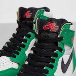 "Nike WMNS Air Jordan 1 High OG ""Lucky Green"" (ナイキ ウィメンズ エア ジョーダン 1 ハイ OG ""ラッキー グリーン"") DB4612-300 shoe tan"