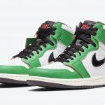 "Nike WMNS Air Jordan 1 High OG ""Lucky Green"" (ナイキ ウィメンズ エア ジョーダン 1 ハイ OG ""ラッキー グリーン"") DB4612-300 front main"