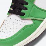 "Nike WMNS Air Jordan 1 High OG ""Lucky Green"" (ナイキ ウィメンズ エア ジョーダン 1 ハイ OG ""ラッキー グリーン"") DB4612-300 toe"