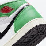 "Nike WMNS Air Jordan 1 High OG ""Lucky Green"" (ナイキ ウィメンズ エア ジョーダン 1 ハイ OG ""ラッキー グリーン"") DB4612-300 heel"