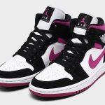 """Nike Air Jordan 1 Mid & Low """"Magenta"""" (ナイキ エア ジョーダン 1 ミッド & ロー """"マジェンタ"""") BQ6472-005"""