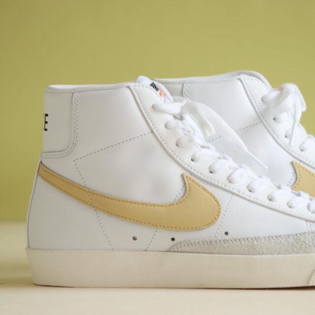 """Nike WMNS Blazer Mid """"White/Pale Orange"""" (ナイキ ウィメンズ ブレーザー ミッド """"ホワイト/ペール オレンジ"""") CZ1055-109"""