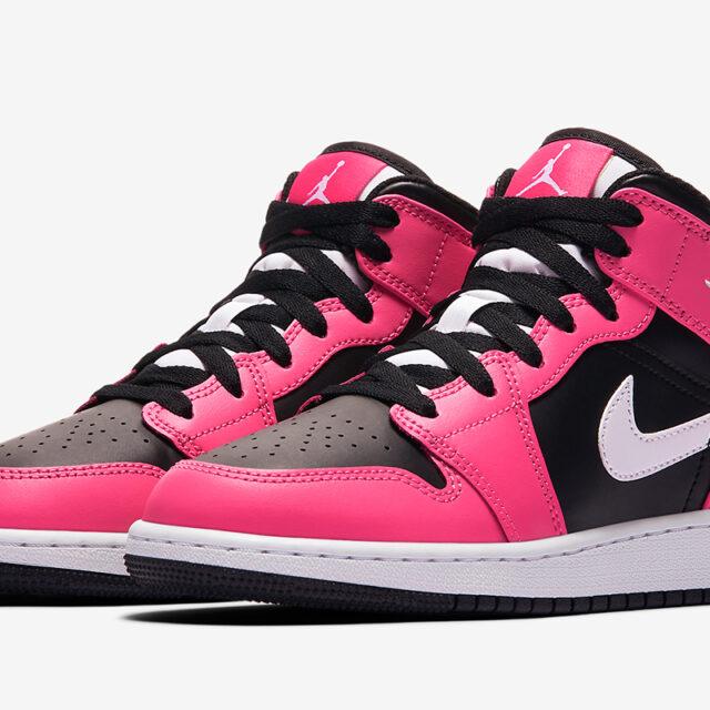 "Nike Air Jordan 1 Mid GS ""Pinksicle"" (ナイキ エア ジョーダン 1 ミッド GS ""ピンクシクル"") 555112-002"