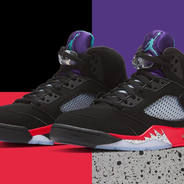 """Nike Air Jordan 5 """"TOP 3"""" (ナイキ エア ジョーダン 5 """"トップ 3"""") CZ1786-001"""