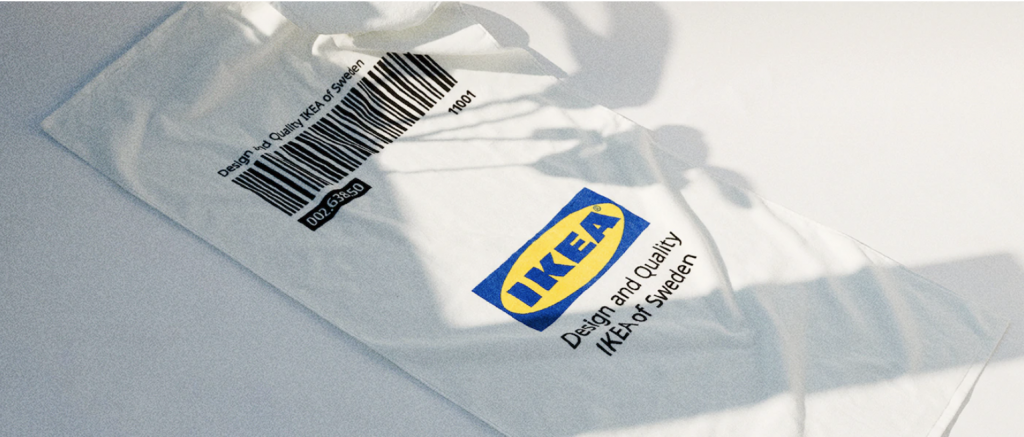 IKEA公式のアパレルブランドEFTERTRÄDA(エフテルトレーダ )コレクション, バスタオル (Ikea_eftertrada-collection-white-bathtowel)