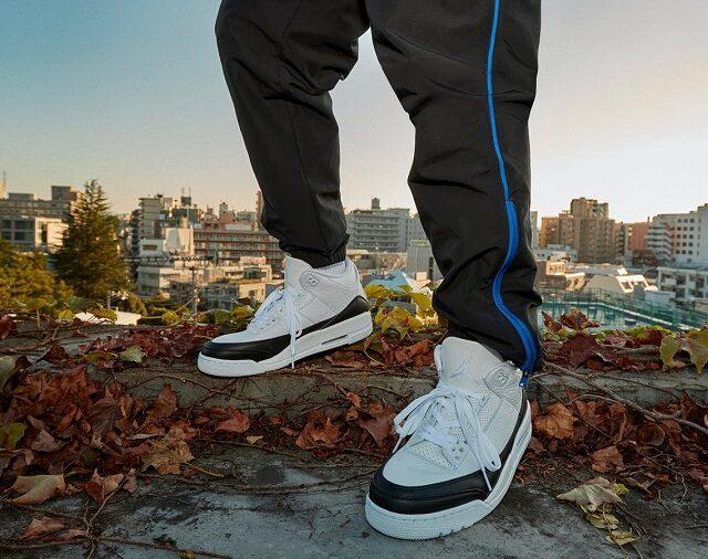 Fragment × Nike Air Jordan 3 (フラグメント × ナイキ エア ジョーダン 3) DA3595-100 advertisement main