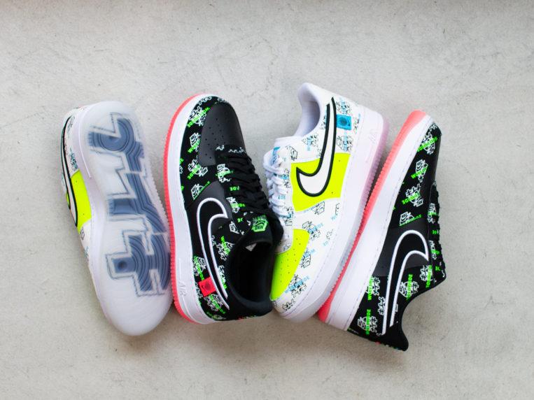 """Nike Air Force 1 '07 LV8 Worldwide Pack """"Katakana"""" (ナイキ エア フォース 1 '07 LV8 ワールドワイド パック """"カタカナ"""") DA1343-003, DA1343-117"""