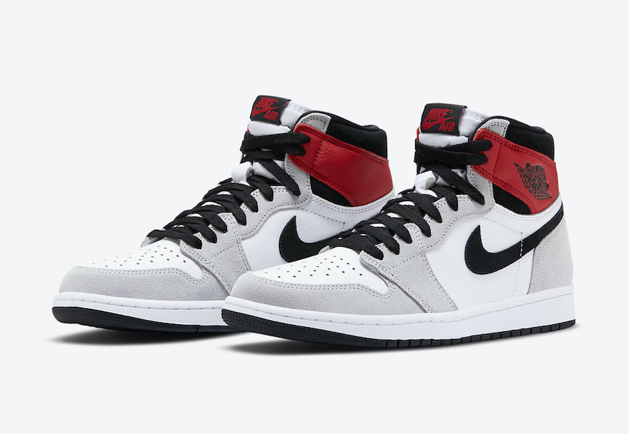 "Nike Air Jordan 1 Hi OG ""Light Smoke Grey"" (ナイキ エア ジョーダン 1 ハイ OG ""ライト スモーク グレー) 555088-126, 575441-126"