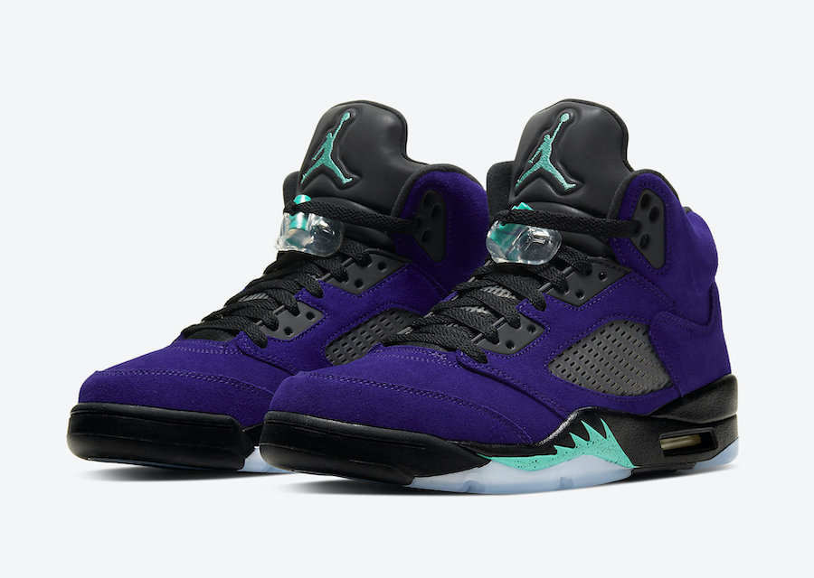 """Nike Air Jordan 5 """"Purple Grape"""" (ナイキ エア ジョーダン 5 """"パープル グレープ"""") 136027-500"""