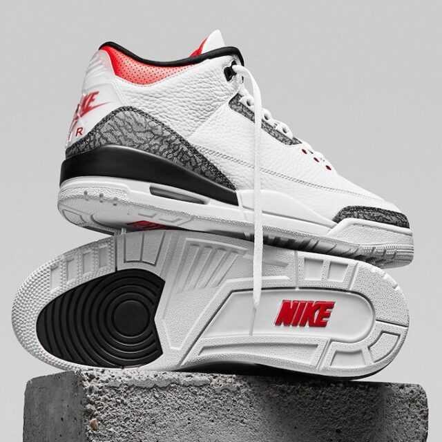 "Nike Air Jordan 3 SE-T ""Fire Red"" (ナイキ エア ジョーダン 3 SE-T ""ファイア レッド"") CZ6431-100, CZ6433-100"