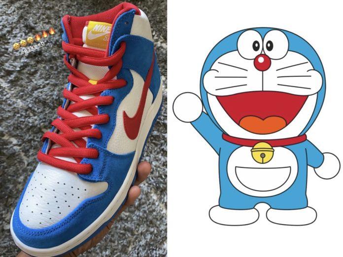 "Nike SB Dunk High ""Doraemon"" (ナイキ SB ダンク ハイ ""ドラえもん"")"