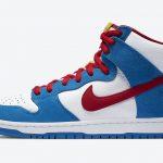 """Nike SB Dunk High """"Doraemon"""" (ナイキ SB ダンク ハイ """"ドラえもん"""") CI2692-400 side"""