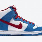 """Nike SB Dunk High """"Doraemon"""" (ナイキ SB ダンク ハイ """"ドラえもん"""") CI2692-400 side right"""
